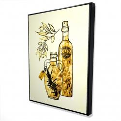 Framed 36 x 48 - 3D - Artisanal olive oil