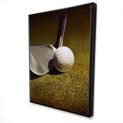 Framed 36 x 48 - 3D - Golf closeup