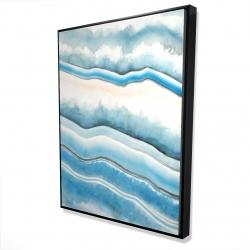 Framed 36 x 48 - 3D - Textured geode