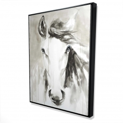 Framed 36 x 48 - 3D - Beautiful abstract horse