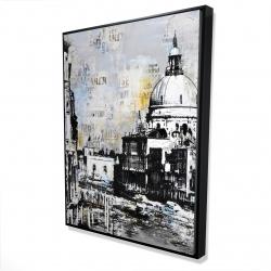 Framed 36 x 48 - 3D - Basilica of santa maria della salute
