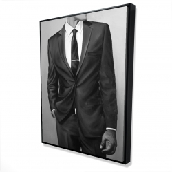 Framed 36 x 48 - 3D - Man in a great costume