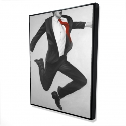 Framed 36 x 48 - 3D - Happy classic man