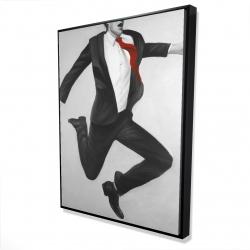 Framed 36 x 48 - 3D - Happy classic man