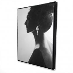 Framed 36 x 48 - 3D - Chic woman