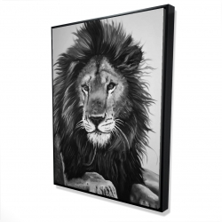 Framed 36 x 48 - 3D - The lion king