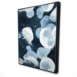 Framed 36 x 48 - 3D - Jellyfishs