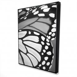 Framed 36 x 48 - 3D - Butterfly wings closeup