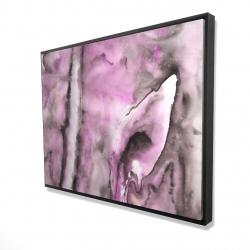 Framed 36 x 48 - 3D - Purple