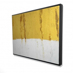 Framed 36 x 48 - 3D - Golden stripe