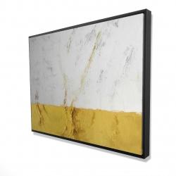Framed 36 x 48 - 3D - Golden shine