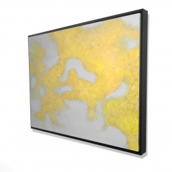 Framed 36 x 48 - 3D - Gold stains