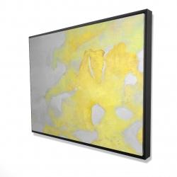Framed 36 x 48 - 3D - Gold erosion