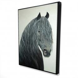 Framed 36 x 48 - 3D - Wild heart
