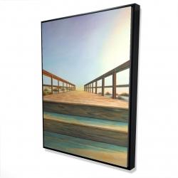 Framed 36 x 48 - 3D - Footbridge