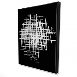Framed 36 x 48 - 3D - Contrast