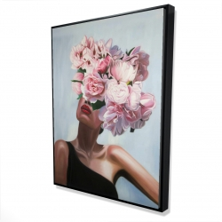 Framed 36 x 48 - 3D - See life in flowers