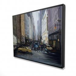 Framed 36 x 48 - 3D - In the city
