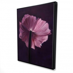 Framed 36 x 48 - 3D - Purple petals