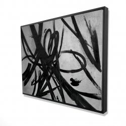 Framed 36 x 48 - 3D - Circular strokes