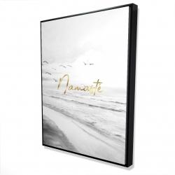Framed 36 x 48 - 3D - Namaste