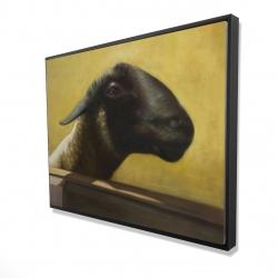 Framed 36 x 48 - 3D - Young ram