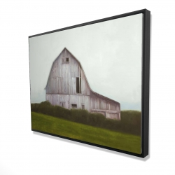 Framed 36 x 48 - 3D - Rustic barn