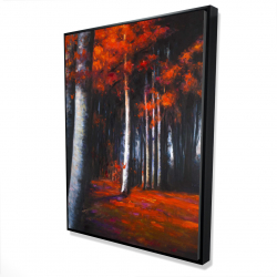 Framed 36 x 48 - 3D - Mysterious forest