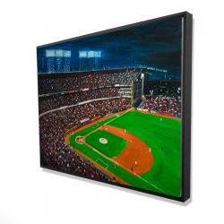 Framed 36 x 48 - 3D - Baseball game