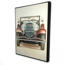 Framed 36 x 48 - 3D - Old 1920s luxury car