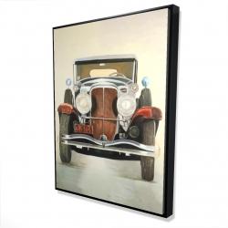 Framed 36 x 48 - 3D - Vintage luxury car
