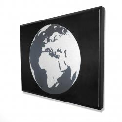 Framed 36 x 48 - 3D - Earth