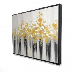 Framed 36 x 48 - 3D - Small golden spots