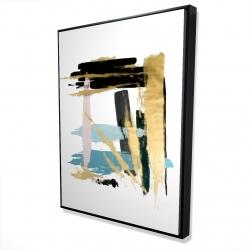 Framed 36 x 48 - 3D - Pastel stroke