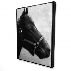 Framed 36 x 48 - 3D - Gallopin the horse