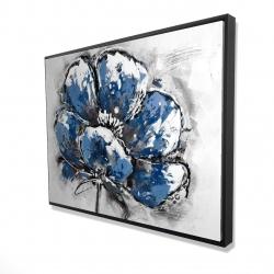 Framed 36 x 48 - 3D - Small flower