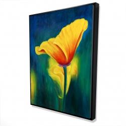 Framed 36 x 48 - 3D - Superb contrast flowers