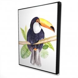 Framed 36 x 48 - 3D - Toucan