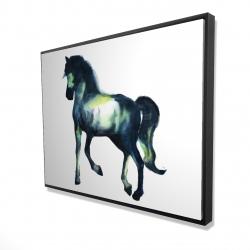 Framed 36 x 48 - 3D - Elegant horse