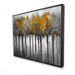 Framed 36 x 48 - 3D - Illuminated forest
