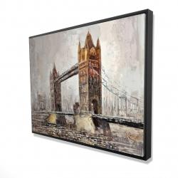 Framed 36 x 48 - 3D - London tower bridge