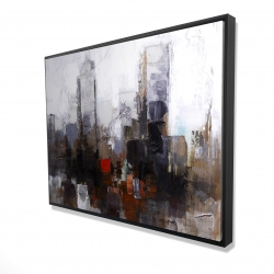 Framed 36 x 48 - 3D - Obscure city