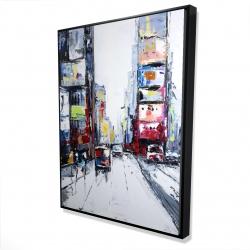 Framed 36 x 48 - 3D - Time square