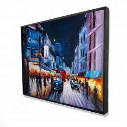 Framed 36 x 48 - 3D - Cabaret evening
