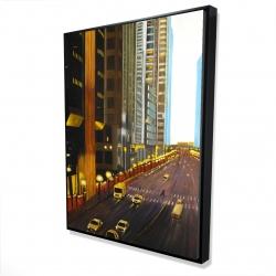 Framed 36 x 48 - 3D - New york city 9th street