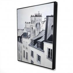 Framed 36 x 48 - 3D - Historical buildings