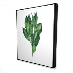Framed 48 x 60 - 3D - Bay leaves bundle