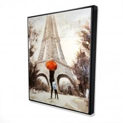 Framed 48 x 60 - 3D - Sweet moment