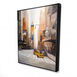 Framed 48 x 60 - 3D - New-york city center