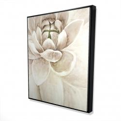Framed 48 x 60 - 3D - Delicate chrysanthemum
